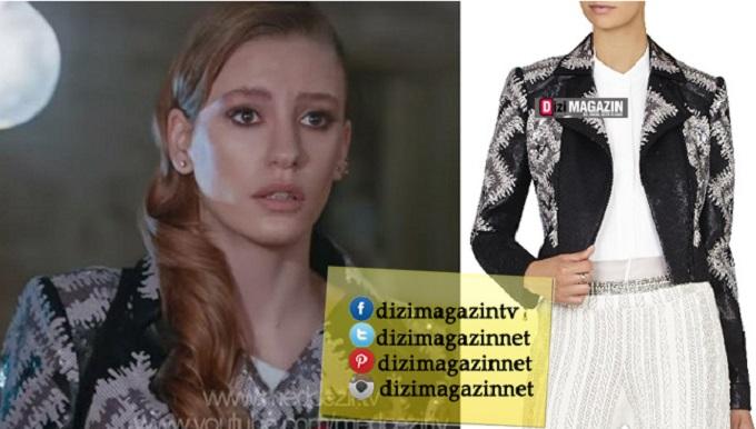 Medcezir Mira - Pullu Ceket - BCBG Max Azria