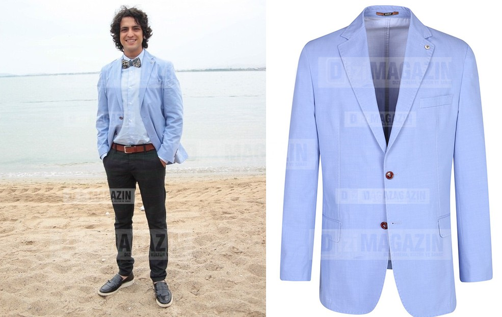 Mert Mavi Ceket