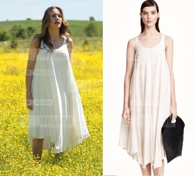 Medcezir Mira - Beyaz Elbise - H&M