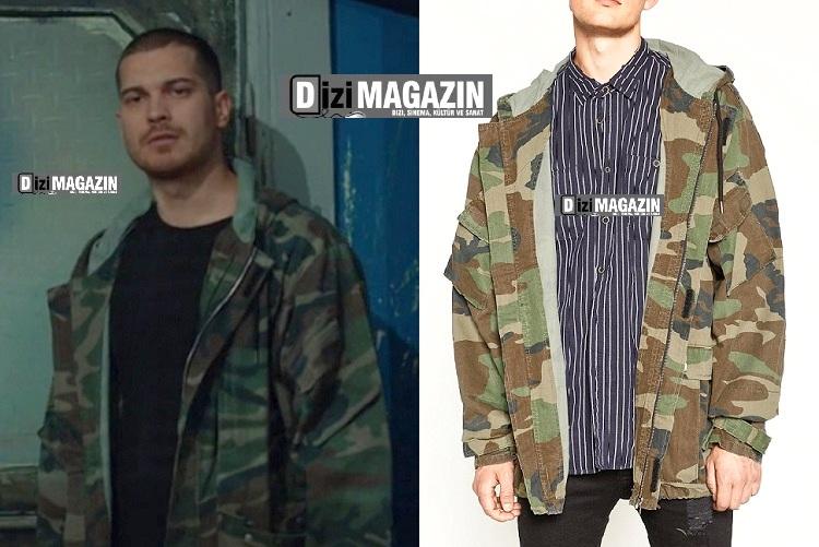 İçerde - Sarp Kamuflaj Ceket - Zara