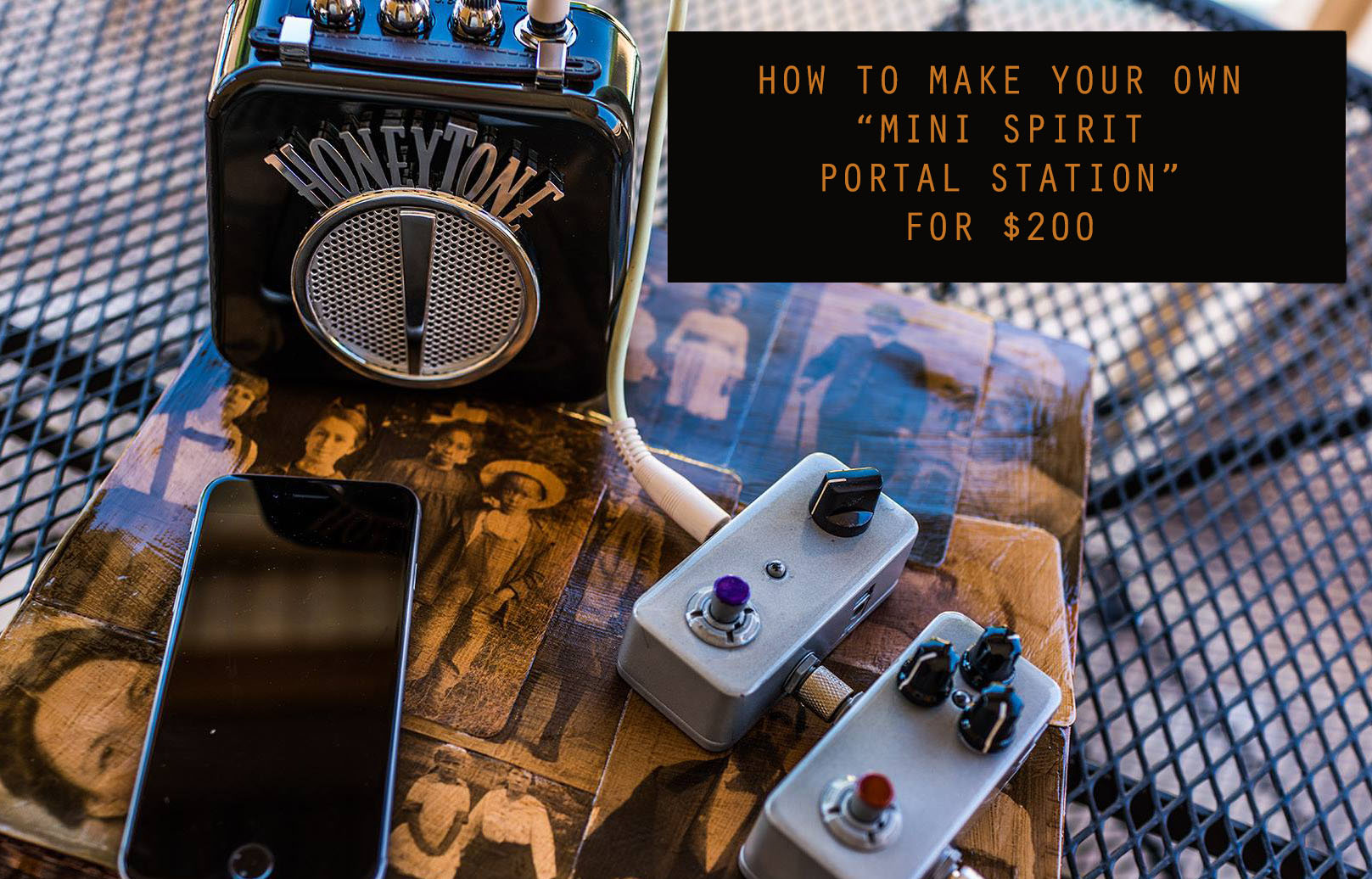 How to make your own Mini Spirit Portal Station Communicator