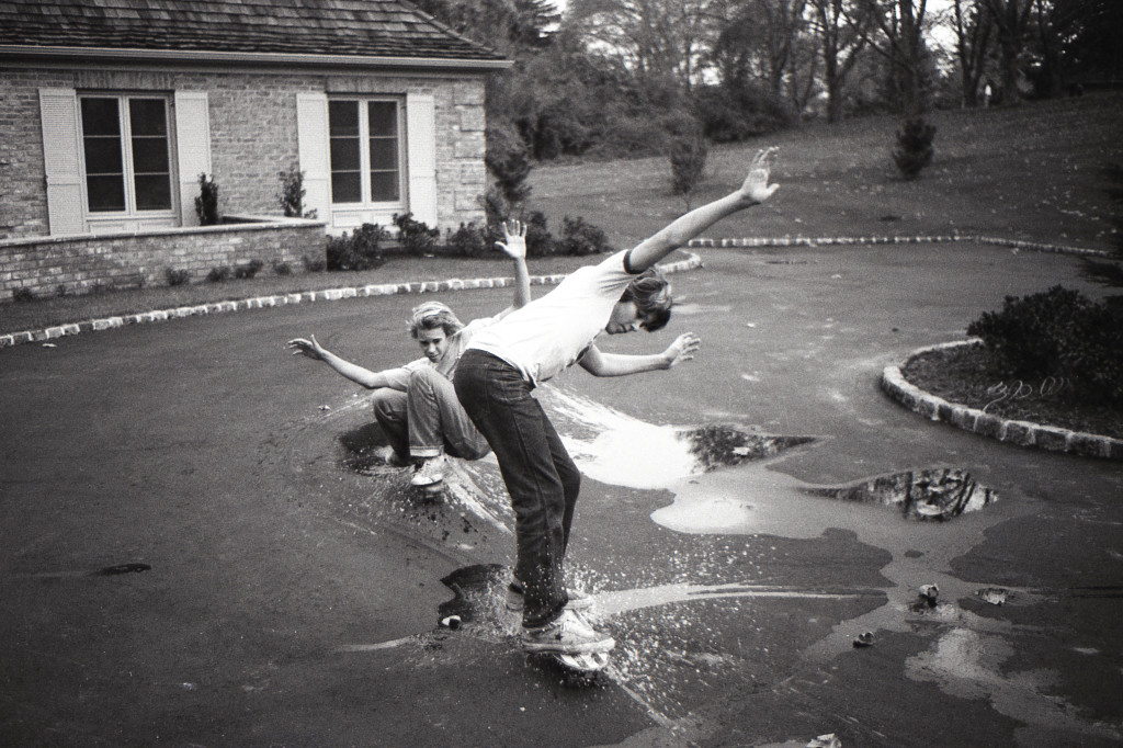 RFH guys skating over the puddles and into spring? Photo/George Day