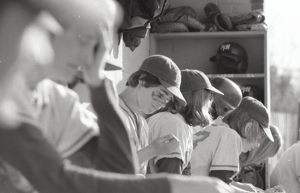 Baseball at RFH in the 1970s Photo/George Day