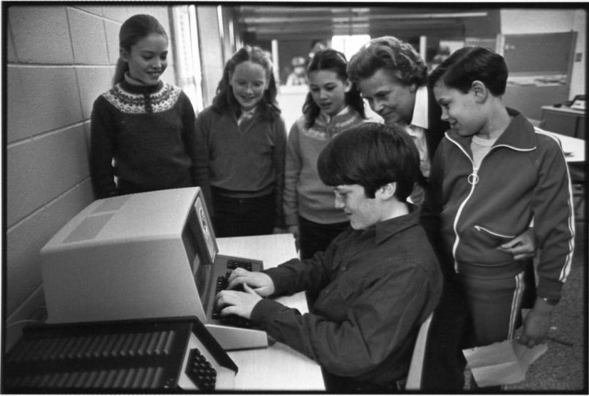 The Tandy and gifted and talented Rumson students Photo/Red Bank Register archives