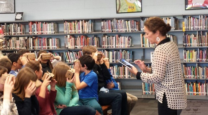 Fair Haven Students Go on 'Google Expeditions'