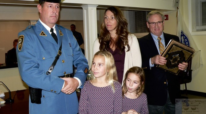 Fair Haven: Lt. Bob Townshend's Hometown Police Promotion