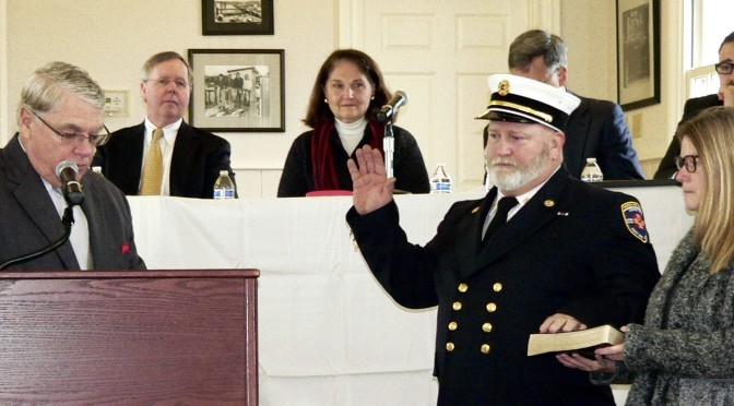Swearing In, Promoting & Retiring at Rumson Reorg 2016