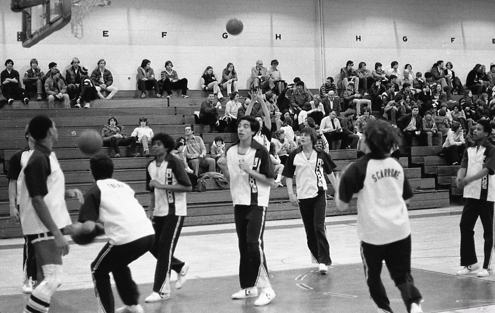 RFH Boys Basketball of the 1970s Photo/George Day