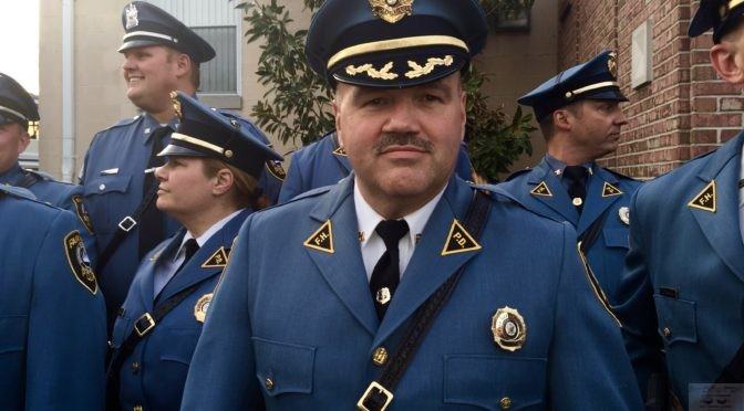 Honoring Fair Haven's Police Chief