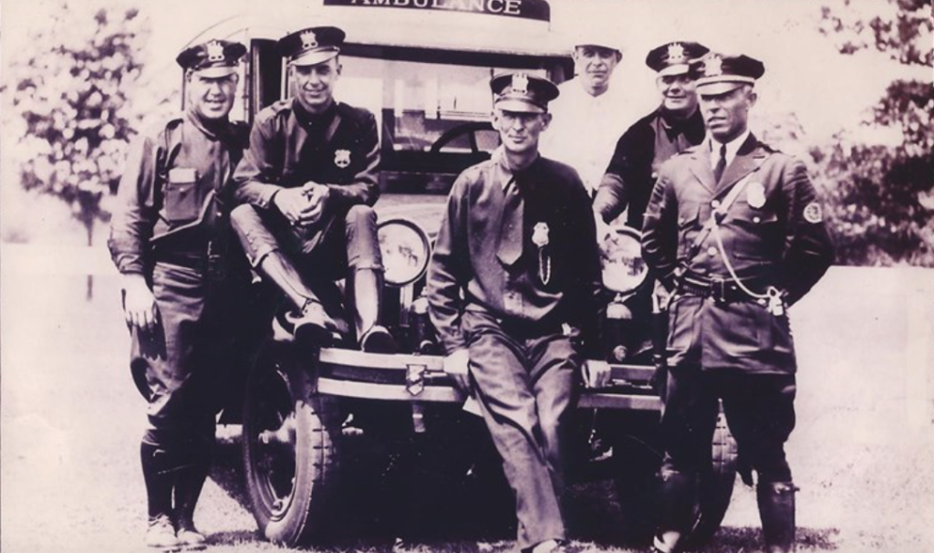 Rumson police of the past Photo/Rumson PD Facebook page