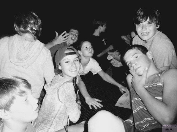 Happy campers at the Fair Haven campout in 2013 Photo/Elaine Van Develde