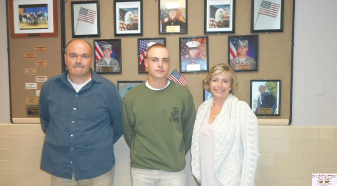 Knollwood Grad, FH Police Chief's Son Inducted onto Wall of Honor