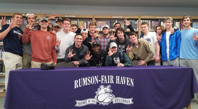 RFH Football Star Elijah McAllister Signs with Vanderbilt