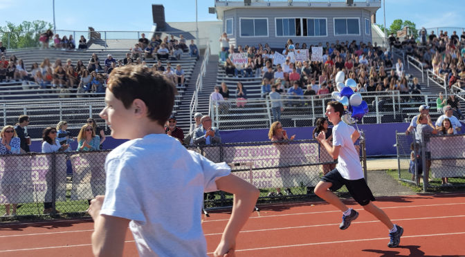Rumson, Fair Haven Students Sprint into Tri-District Olympics