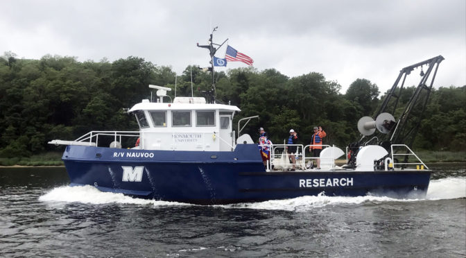 New Marine Research Vessel Unveiled