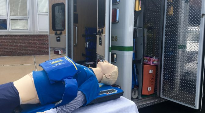 Scene Around: A Real Fair Haven First Aid Dummy