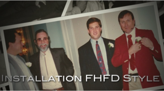 Retro FHFD Installation Dinner Moments