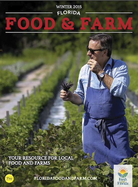 Inaugural Issue of Florida Food & Farm Now on Stands