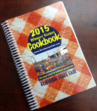 The 2015 cookbook for the Florida State Fair. / Contributed