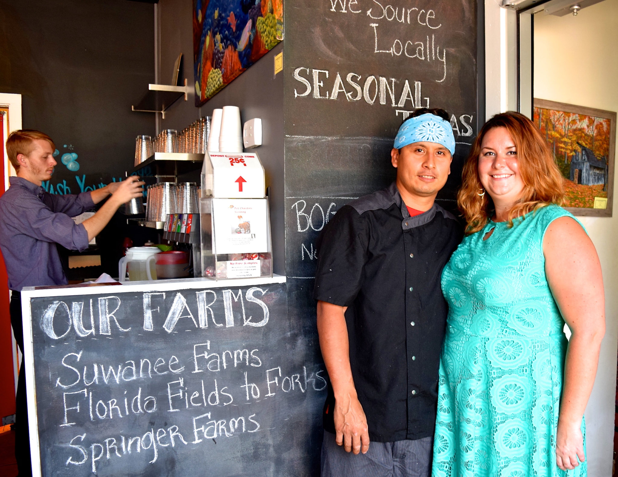 'Local' and 'Global' on the Menu at Nomad Café