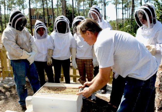 norris-bees-al-and-class-beekeeping