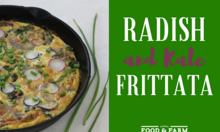 Brunch Recipe: Healthy Radish Frittata
