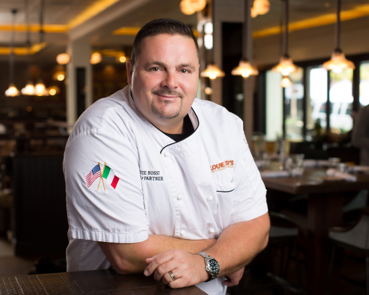 Louie Bossi, Chef/Owner of Louie Bossi's Ristorante