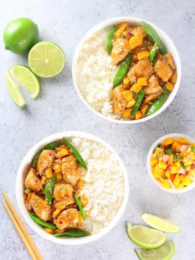 Mango and Chicken Stir Fry by Taste and See