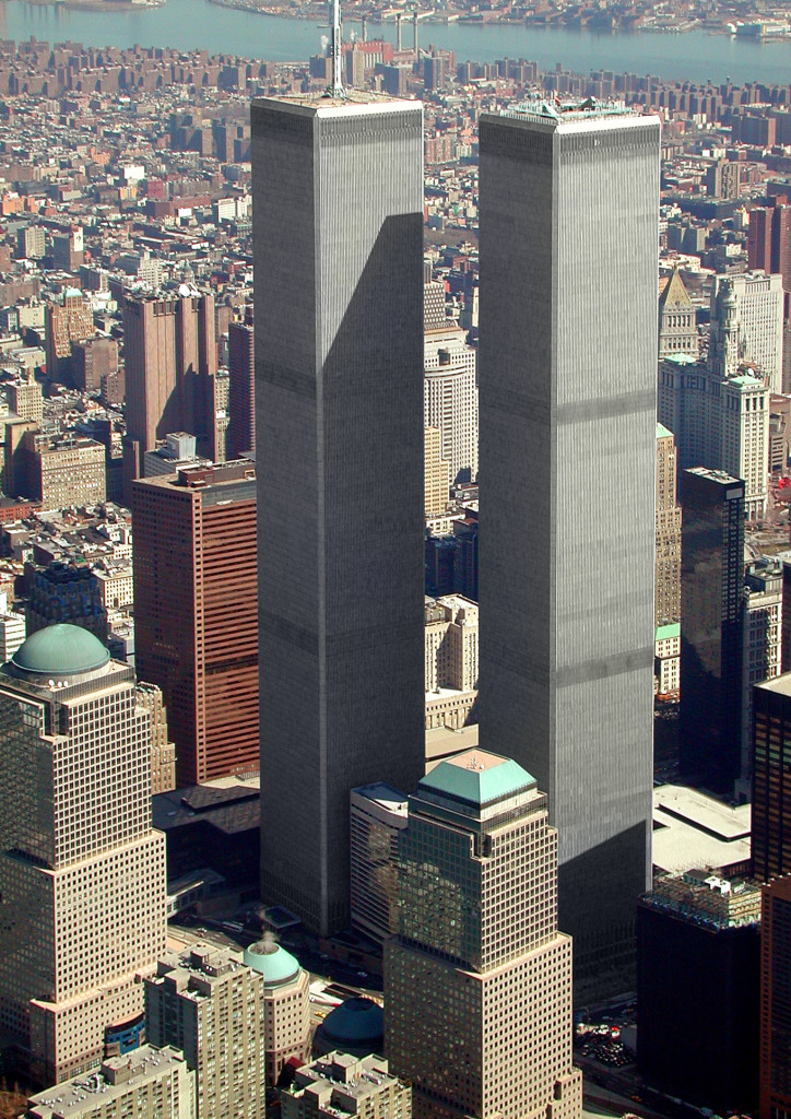 """The TWIN TOWERS were aptly written about In the """"The Lord of the Rings"""" by J. R. R. Tolkien"""