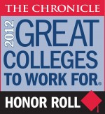 UIW named a 2012 Great College to Work For for fourth consecutive year