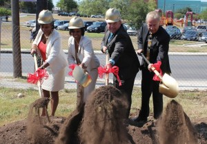 UIW breaks ground on Eye Care and Health Institute