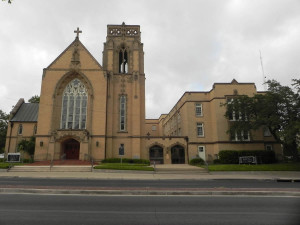 St. John's Evangelical Lutheran Church located downtown on E. Nueva St.
