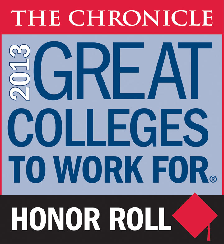 UIW named a 2013 Great College to Work For