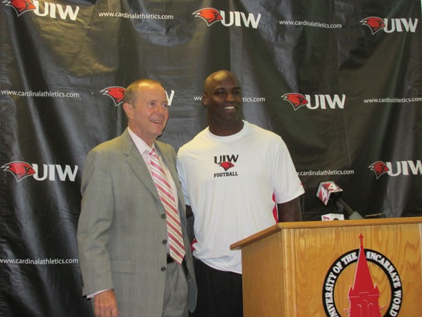 Ricky Williams joins UIW football coaching staff