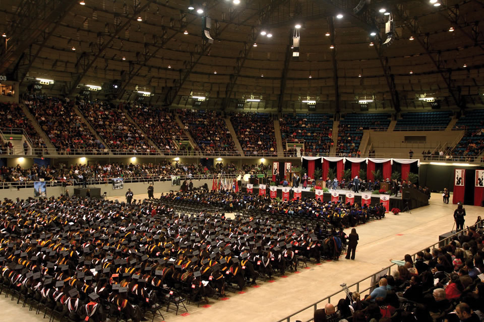 UIW celebrates the Fall Class of 2013