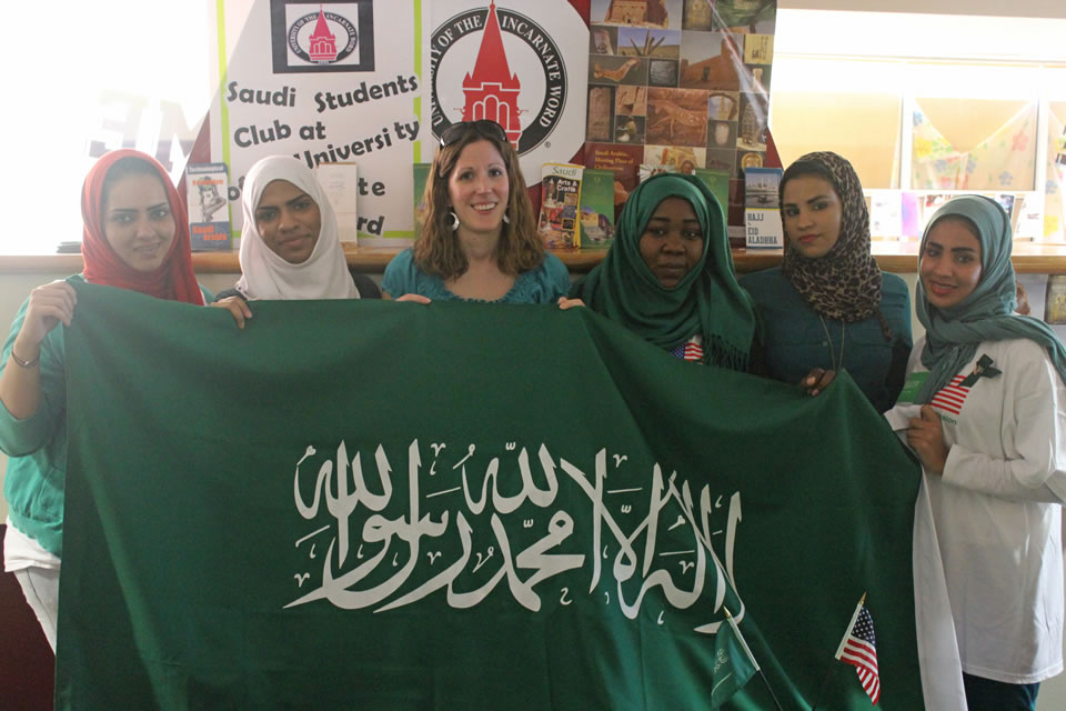 Saudi-sponsored students find a home at UIW