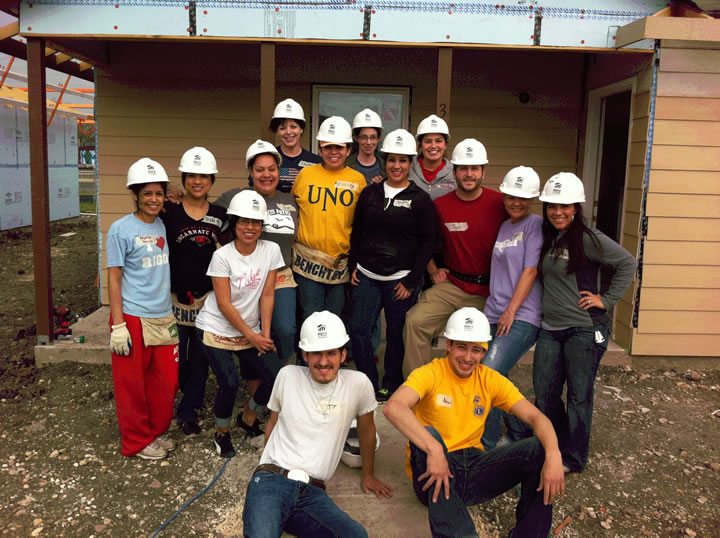 Students show spirit through leadership and volunteerism