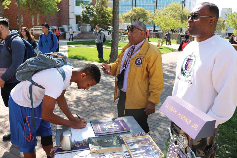UIW welcomes Omega Psi Phi