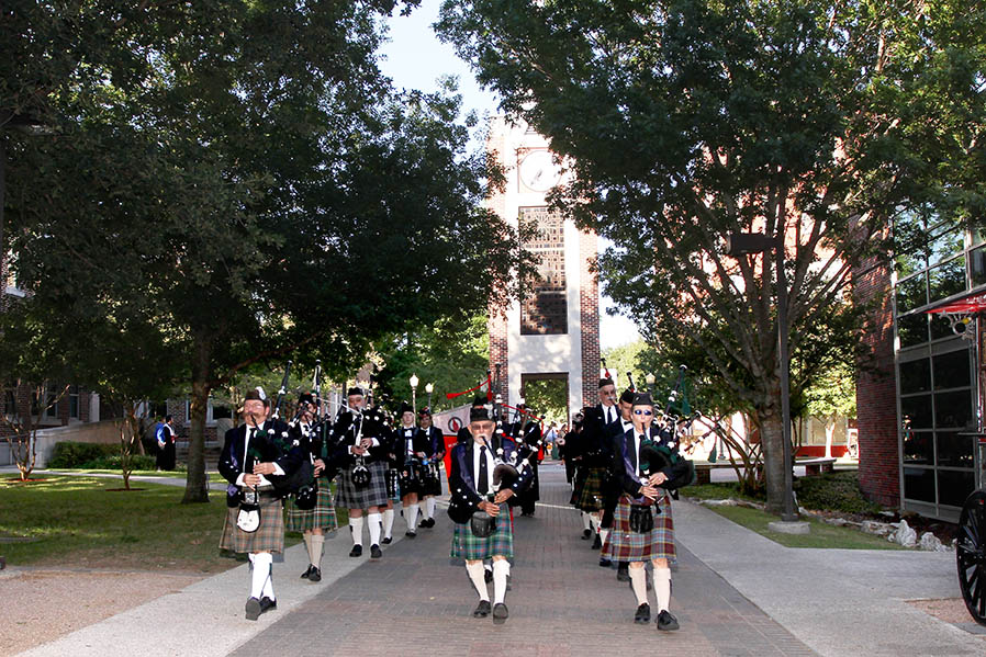 San Antonio Pipes and Drums Family Tradition