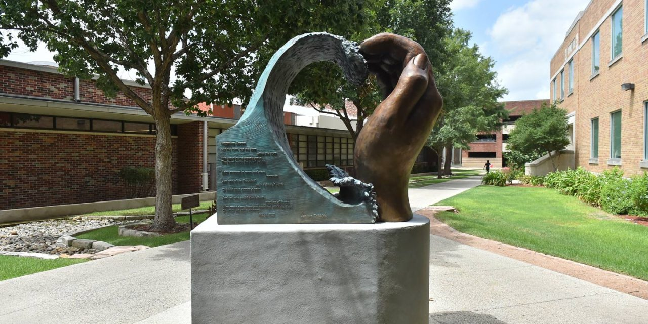The Heart of UIW Statue Now on Campus