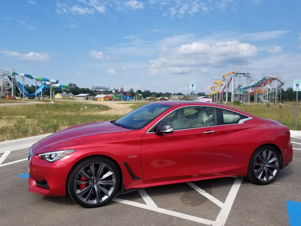 2019 Infiniti Q60 Red Sport 400 is more fun than an amusement park