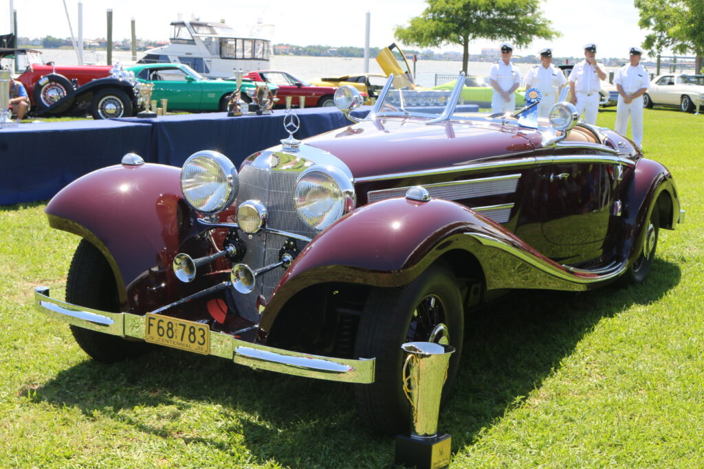 Best of show European at the 2019 Keels & Wheels Concours d'Elegance