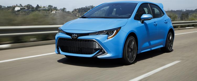 2019 Toyotal Carolla Hatckback is an amazing car for the price
