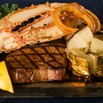Steak & Alaska King Crab Legs