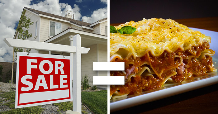 How Selling Your House Is Like Making Lasagna