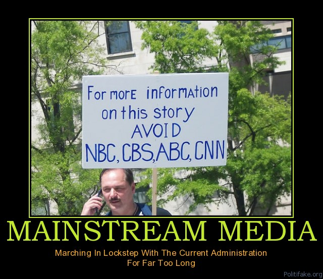 mainstream-media-mainstream-news-is-bs-political-poster