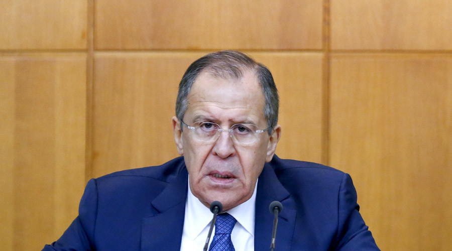 Russian Foreign Minister Sergey Lavrov gives his annual news conference in Moscow, Russia, January 26, 2016. © Maxim Shemetov / Reuters
