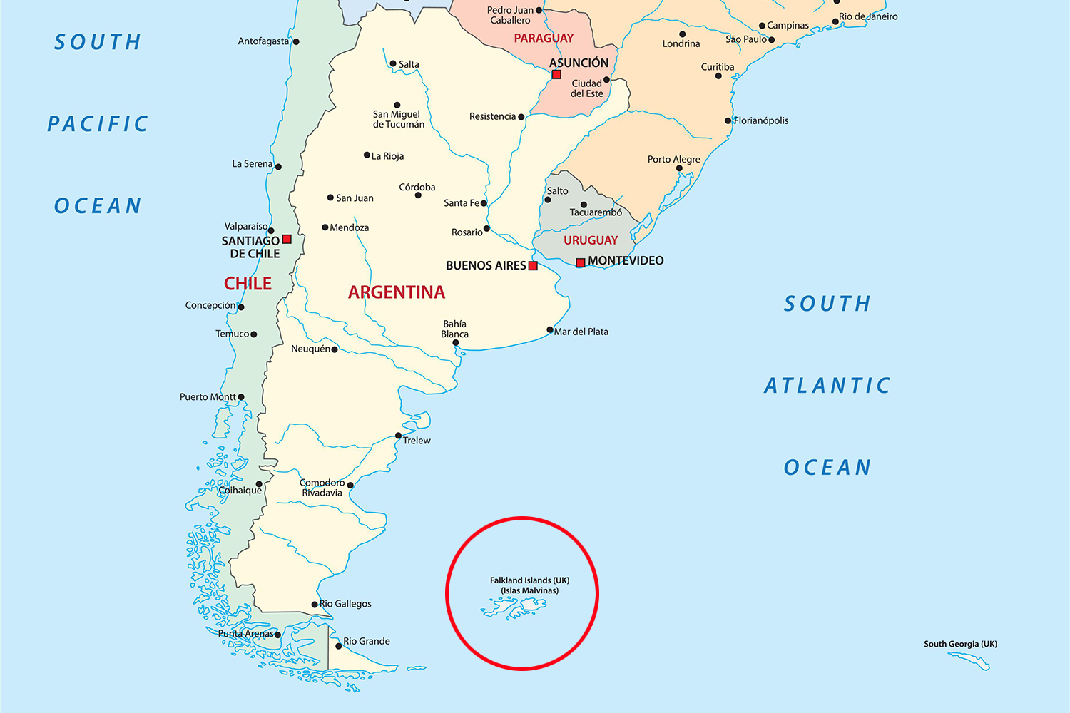 Fresh row after UN declares Falkland Islands lie in Argentinian waters