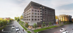 Rendering of the7|S Denver Haus at 7th and Sherman. Image courtesy RedPEak.