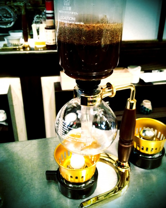 Hi-Collar - siphon press coffee